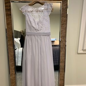 Amsale lace + tulle gown — never worn!